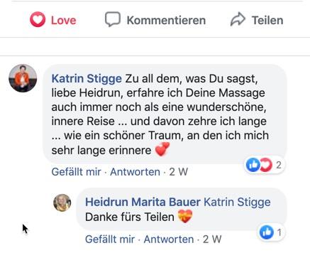 Katrin Stigge Empfehlung Heidrun Bauer Kirchzarten