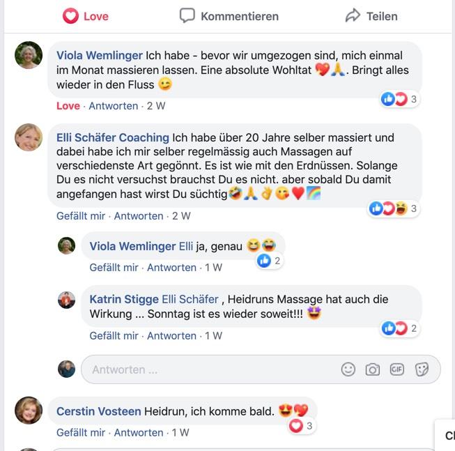 Viola Wemlinger Empfehlung Heidrun Bauer Kirchzarten